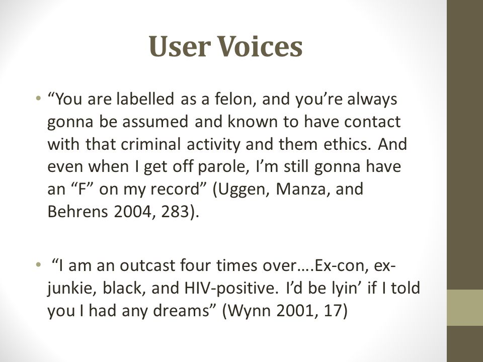 User Voices