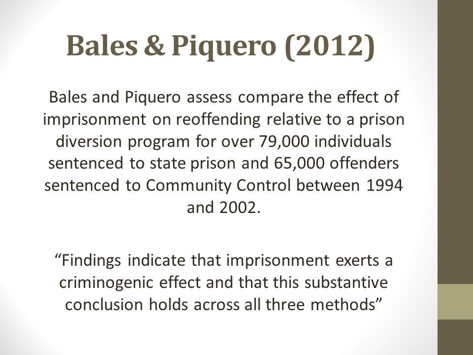 Bales & Piquero (2012)