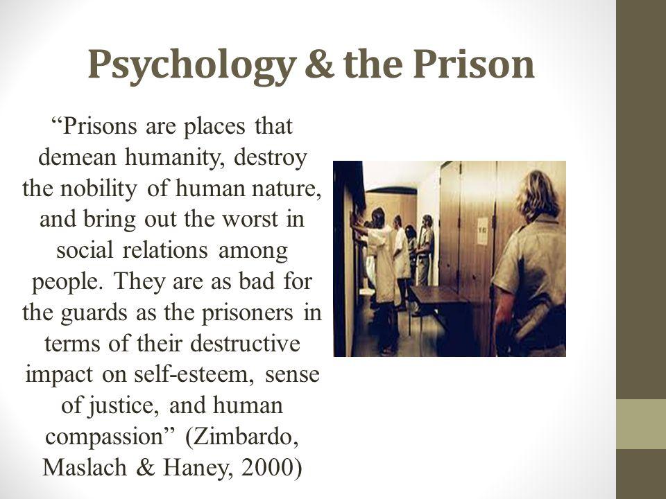 Psychology & the Prison