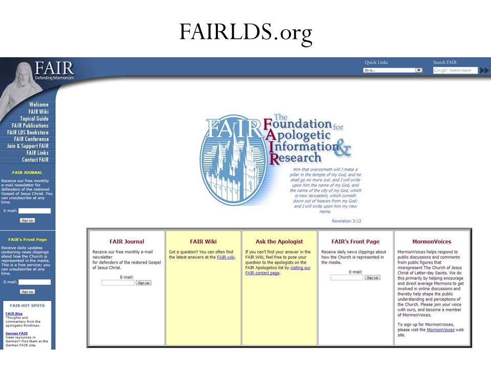 FAIRLDS.org