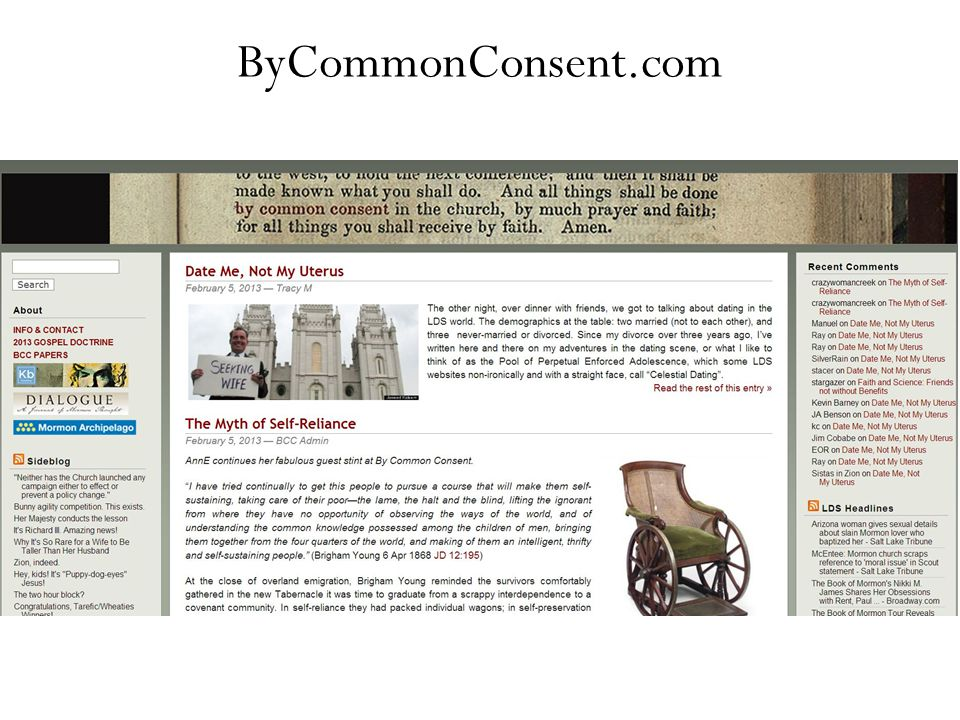 ByCommonConsent.com