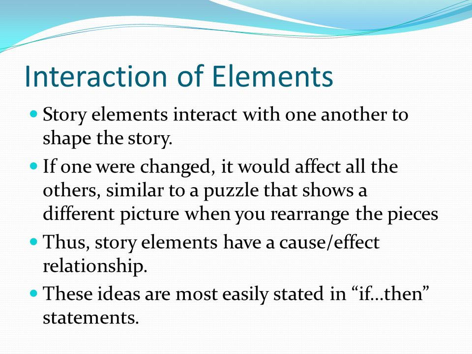 Interaction of Elements