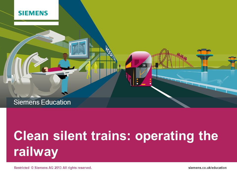 Clean silent trains: operating the railway
