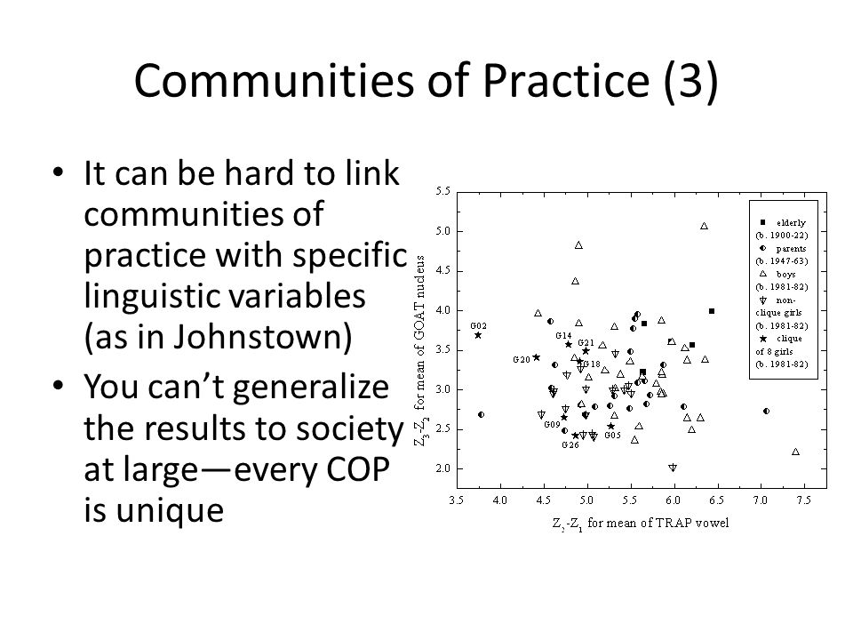 Communities of Practice (3)