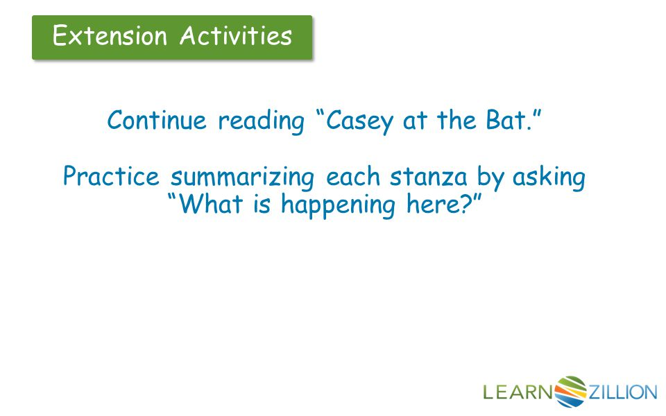 Continue reading Casey at the Bat.
