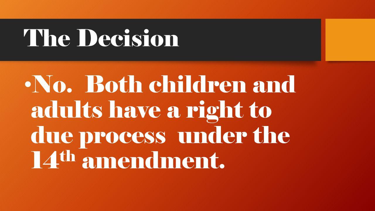 The Decision No.