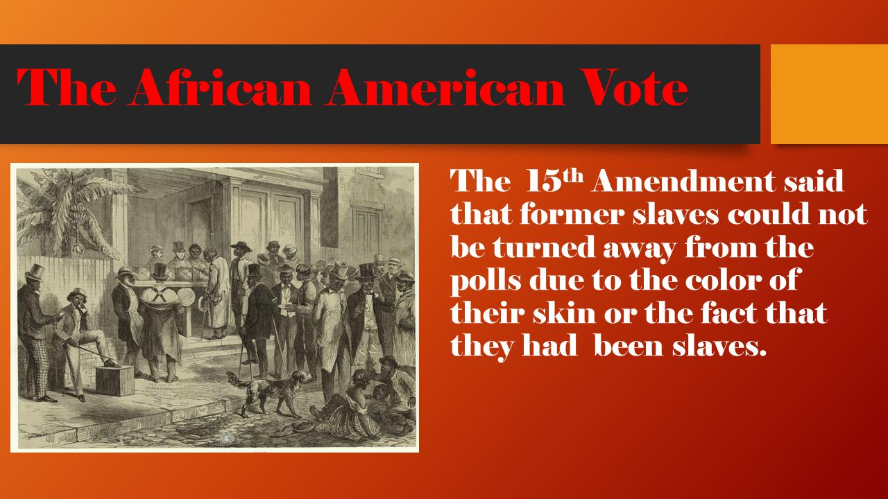 The African American Vote