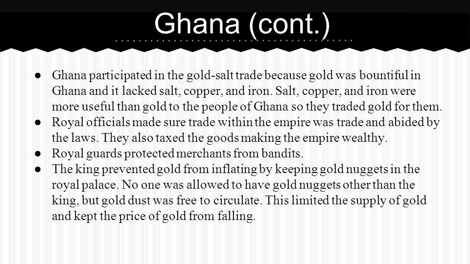 Ghana (cont.)
