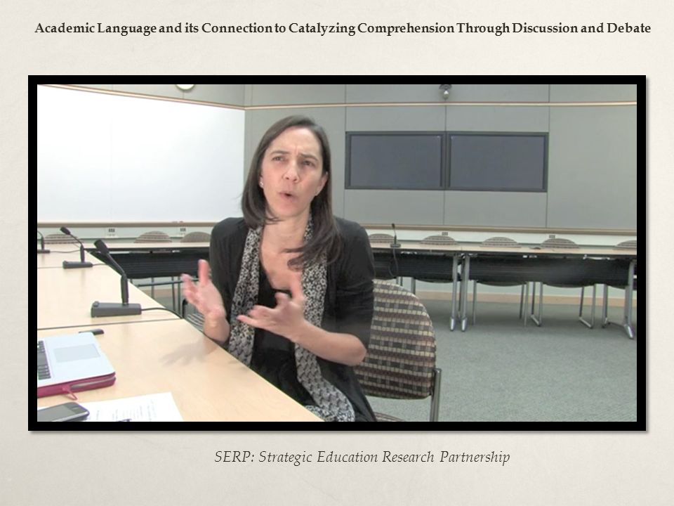 SERP: Strategic Education Research Partnership