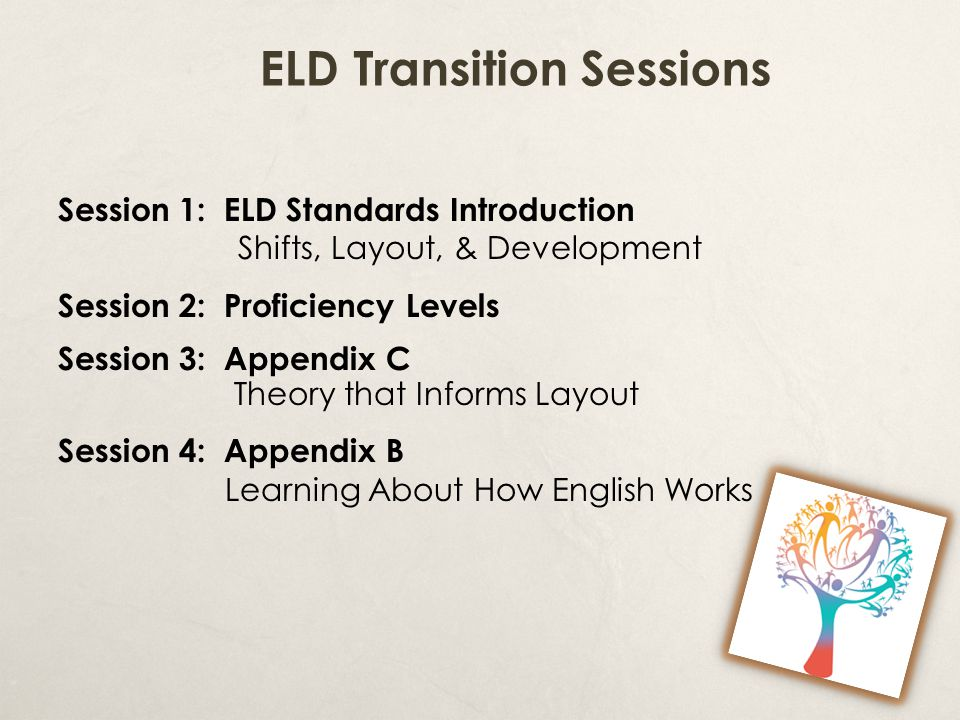 ELD Transition Sessions