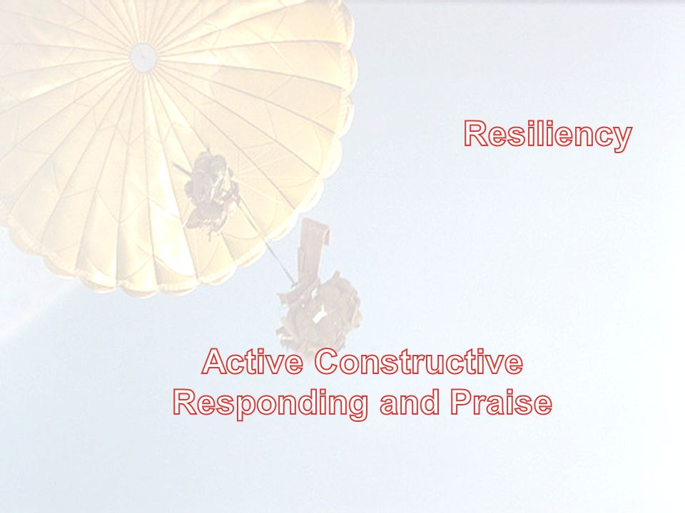 Active Constructive Responding and Praise