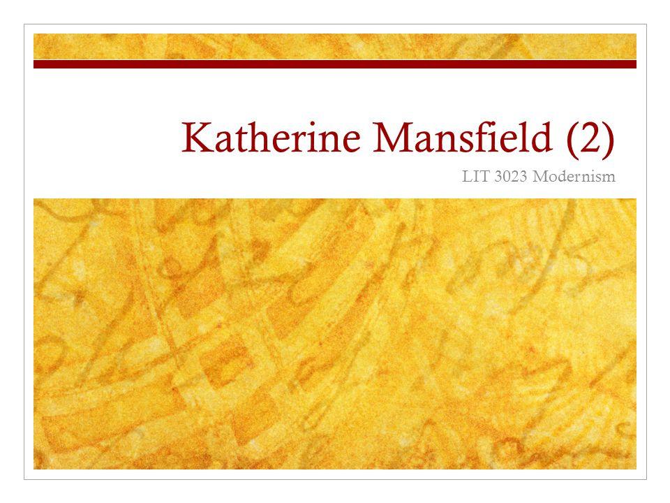 Katherine Mansfield (2)