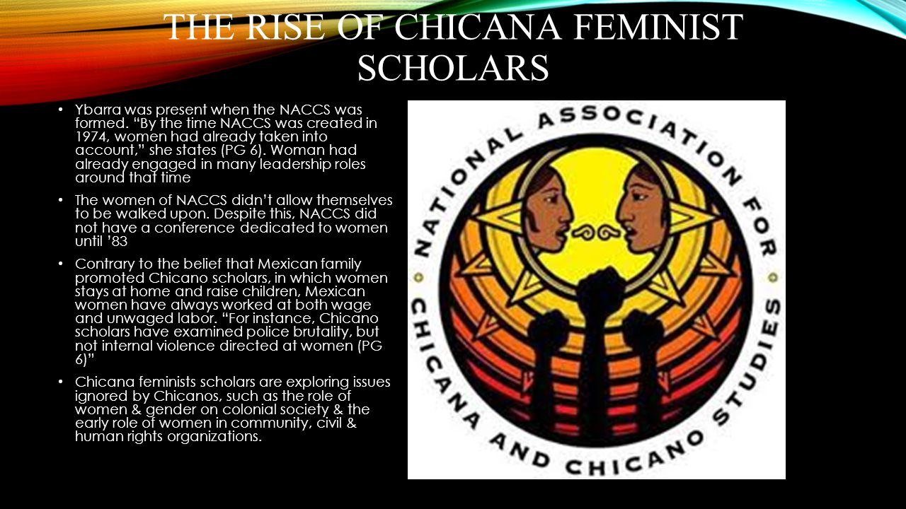 The Rise Of Chicana Feminist Scholars