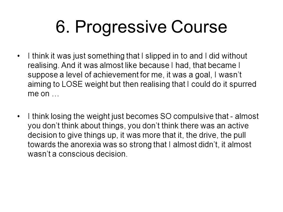 6. Progressive Course