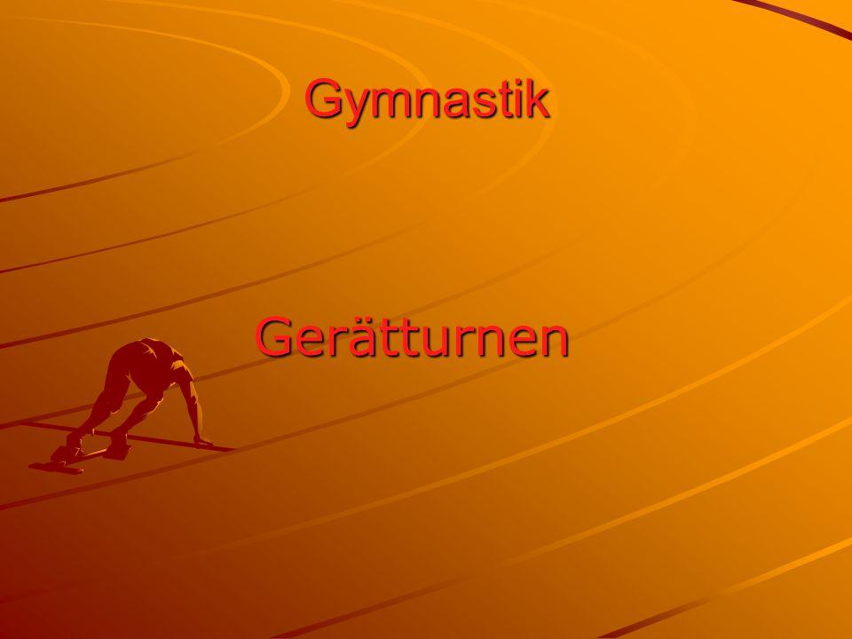 Gymnastik Gerätturnen
