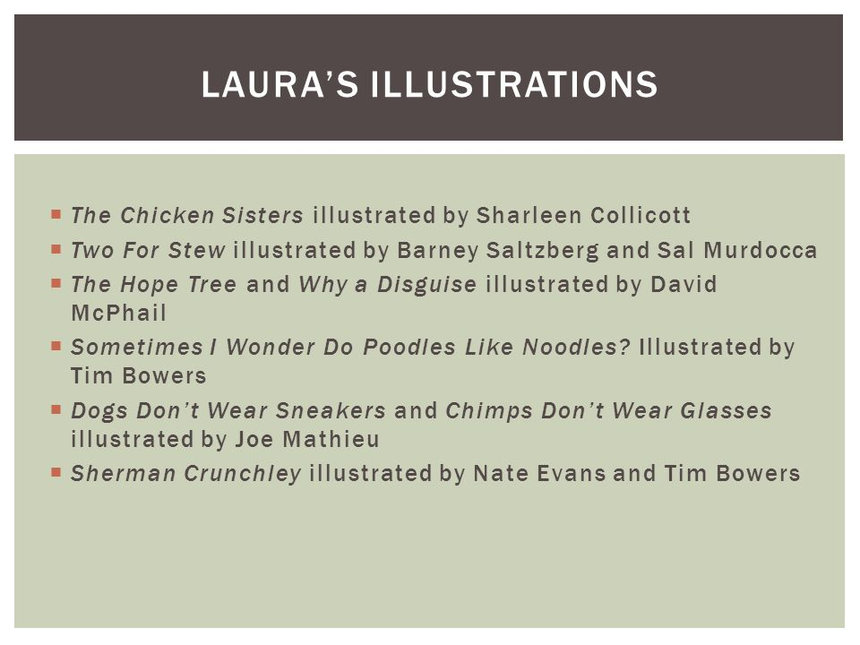 Laura's illustrations