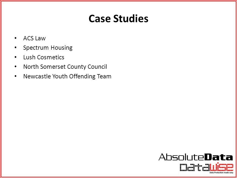 Case Studies ACS Law Spectrum Housing Lush Cosmetics