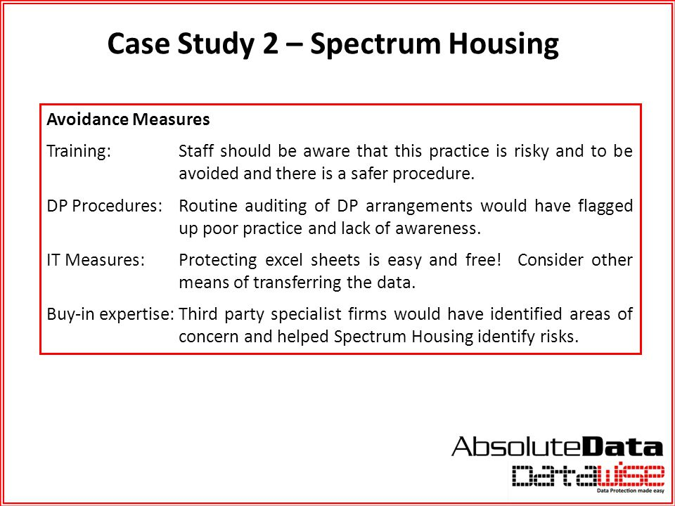 Case Study 2 – Spectrum Housing