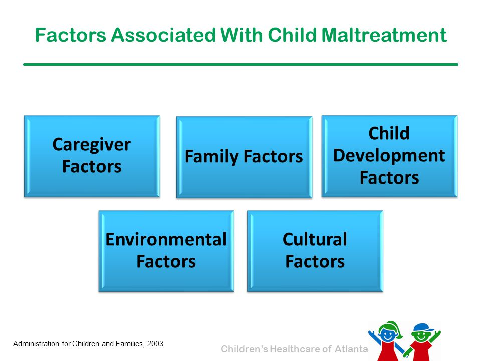 Factors Associated With Child Maltreatment