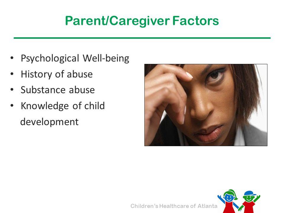 Parent/Caregiver Factors