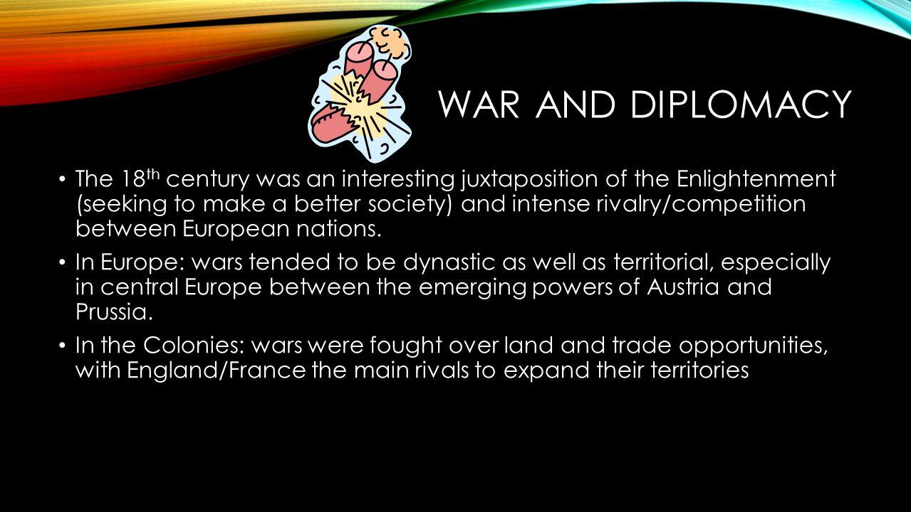 War and Diplomacy