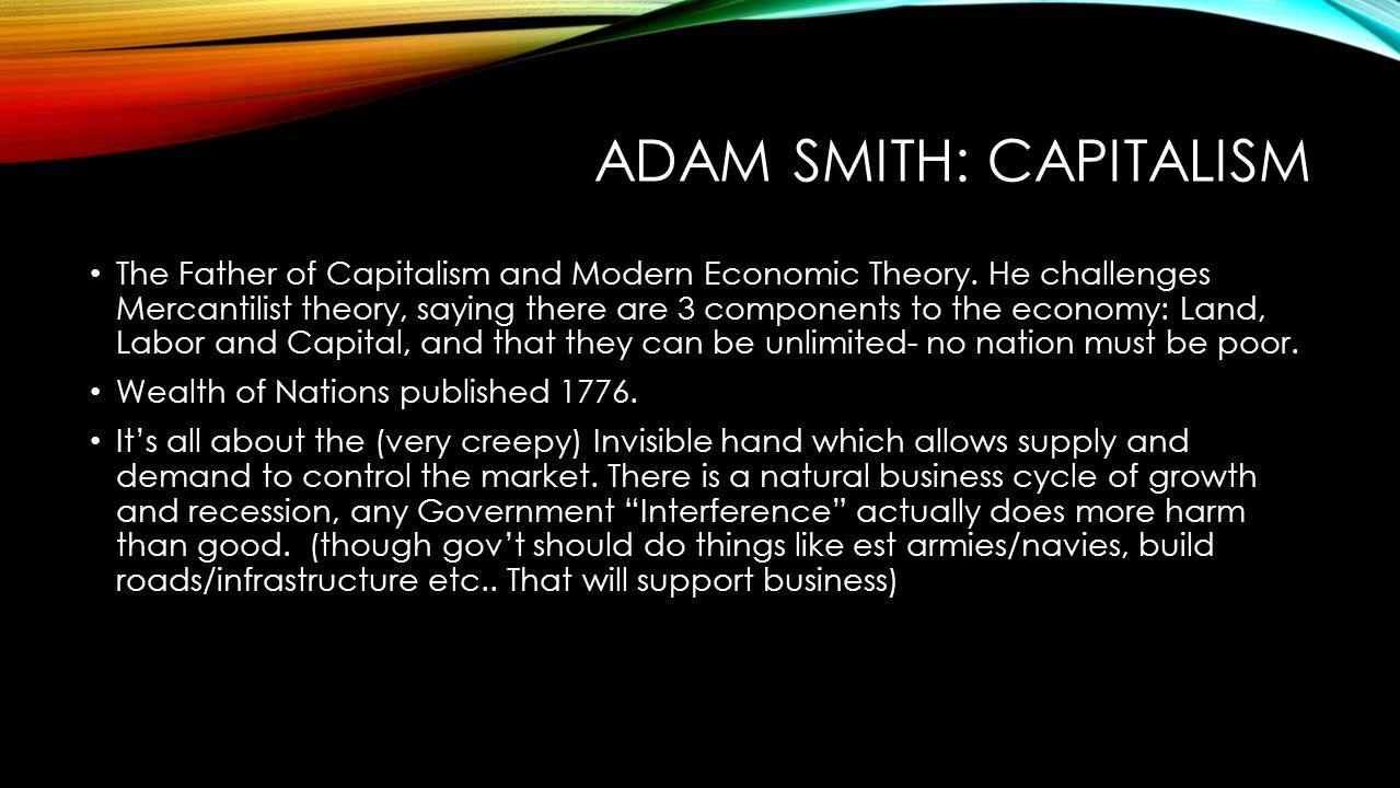 Adam Smith: Capitalism