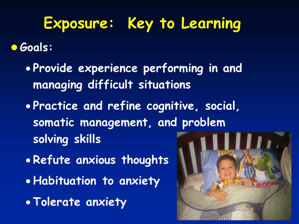 Exposure: Key to Learning