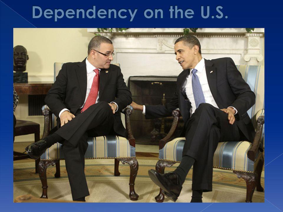 Dependency on the U.S.