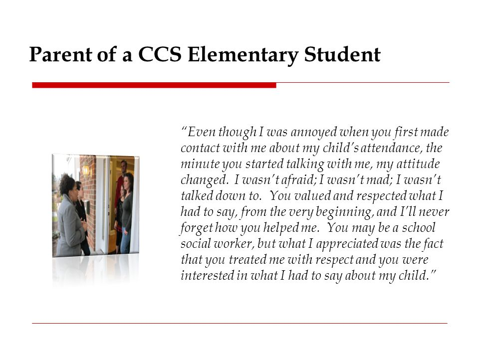 Parent of a CCS Elementary Student