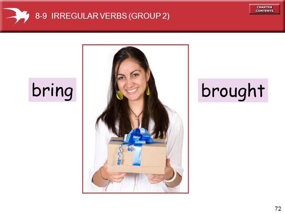 8-9 IRREGULAR VERBS (GROUP 2)