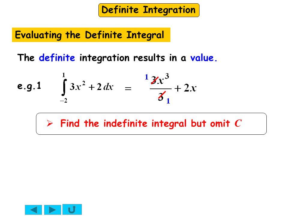 Evaluating the Definite Integral