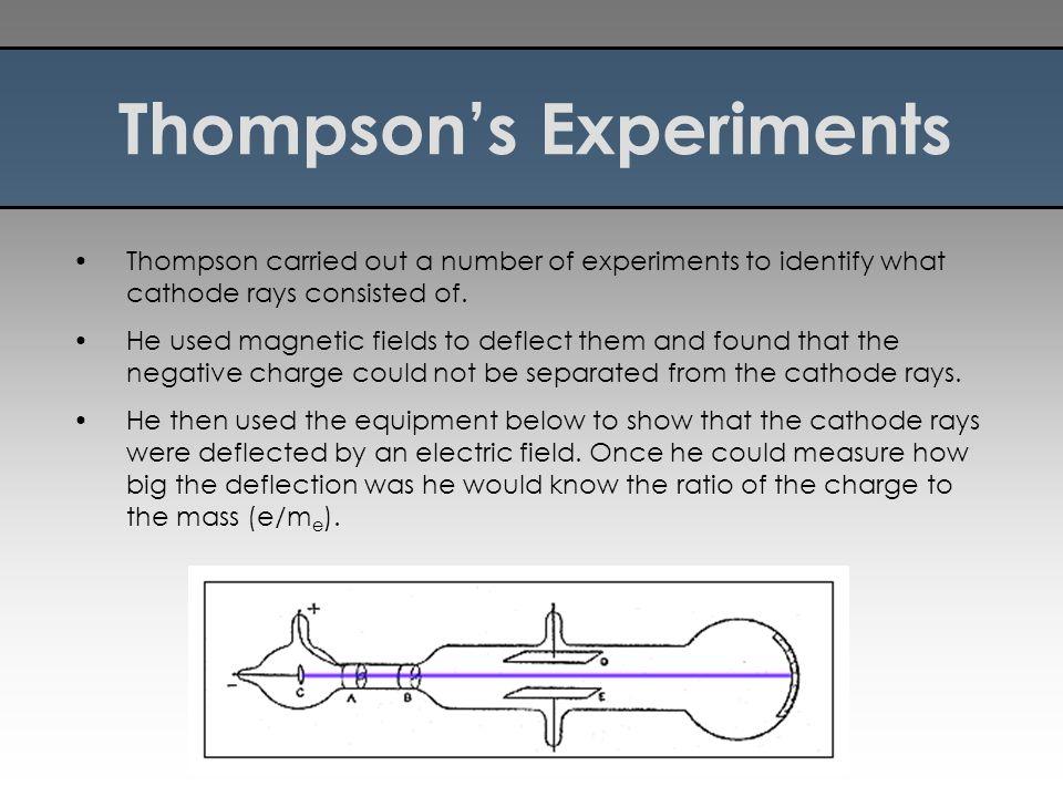 Thompson's Experiments