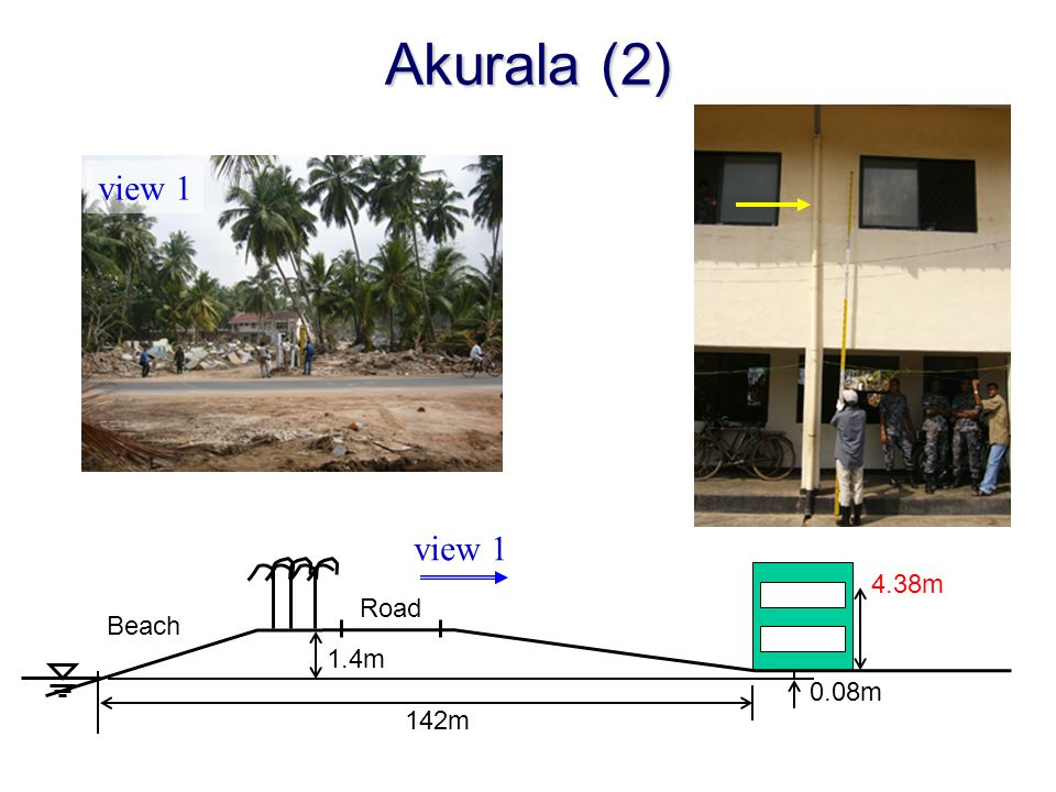 Akurala (2) view 1 view 1 4.38m Road Beach 1.4m 0.08m 142m
