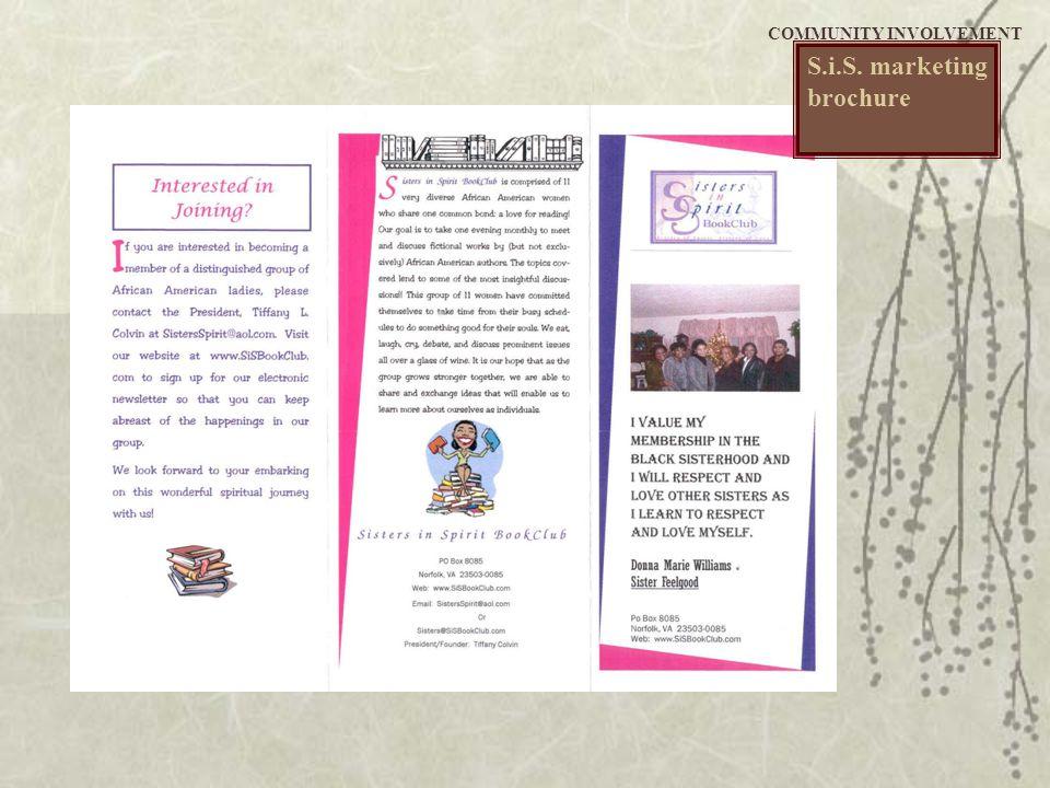 S.i.S. marketing brochure