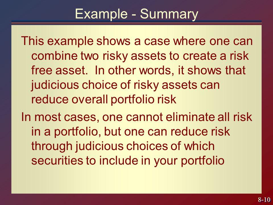 Example - Summary