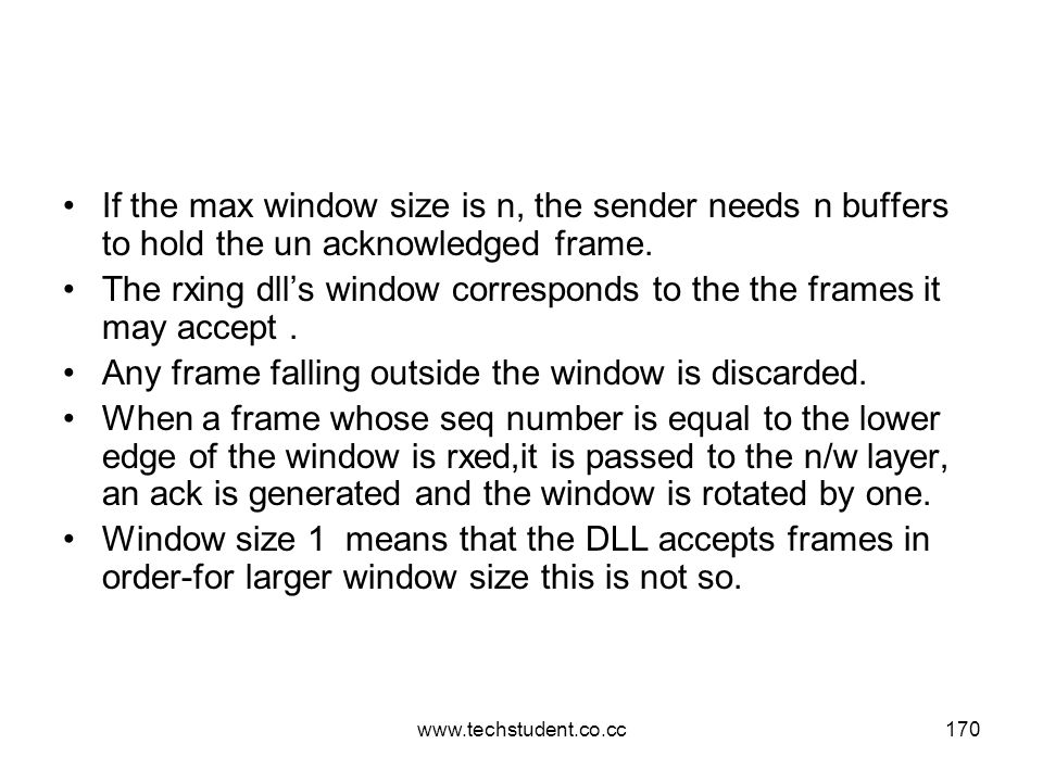 The rxing dll's window corresponds to the the frames it may accept .