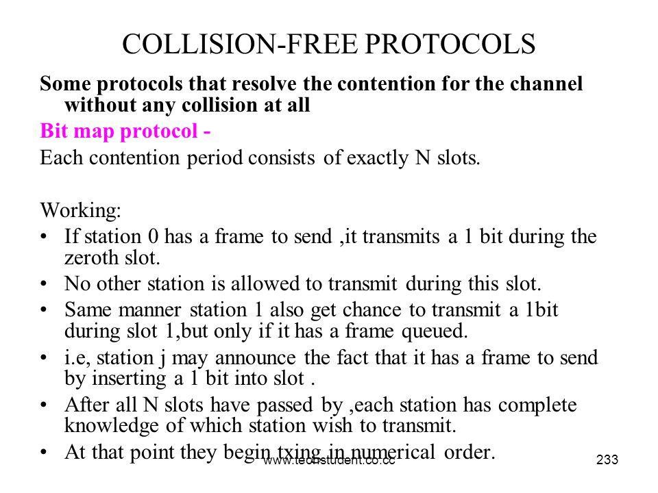 COLLISION-FREE PROTOCOLS