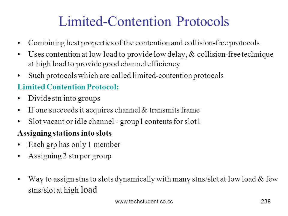 Limited-Contention Protocols