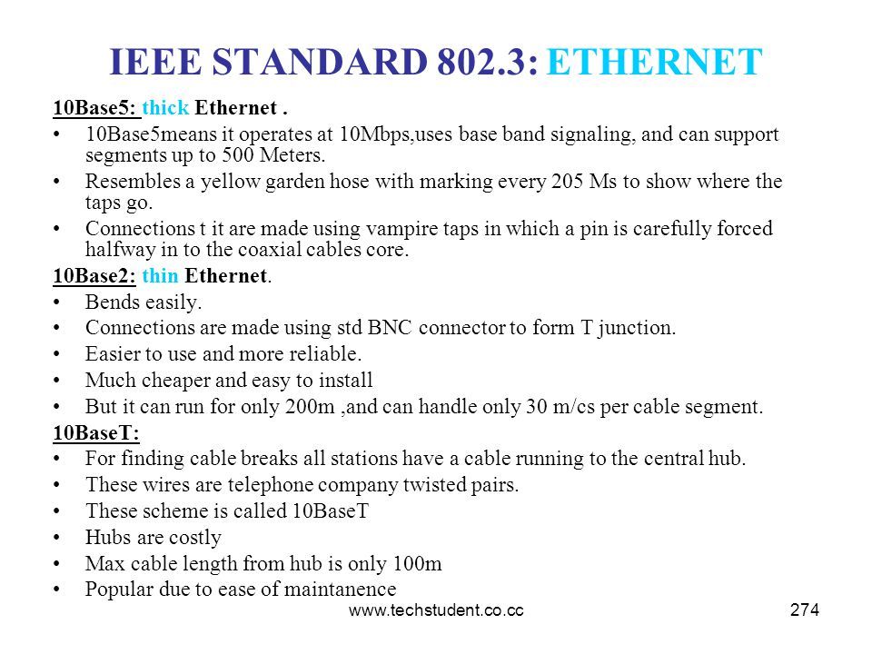 IEEE STANDARD 802.3: ETHERNET