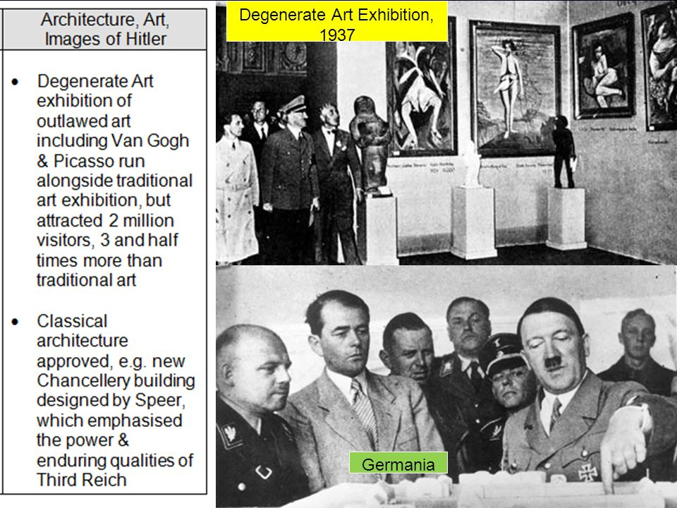 Degenerate Art Exhibition, 1937