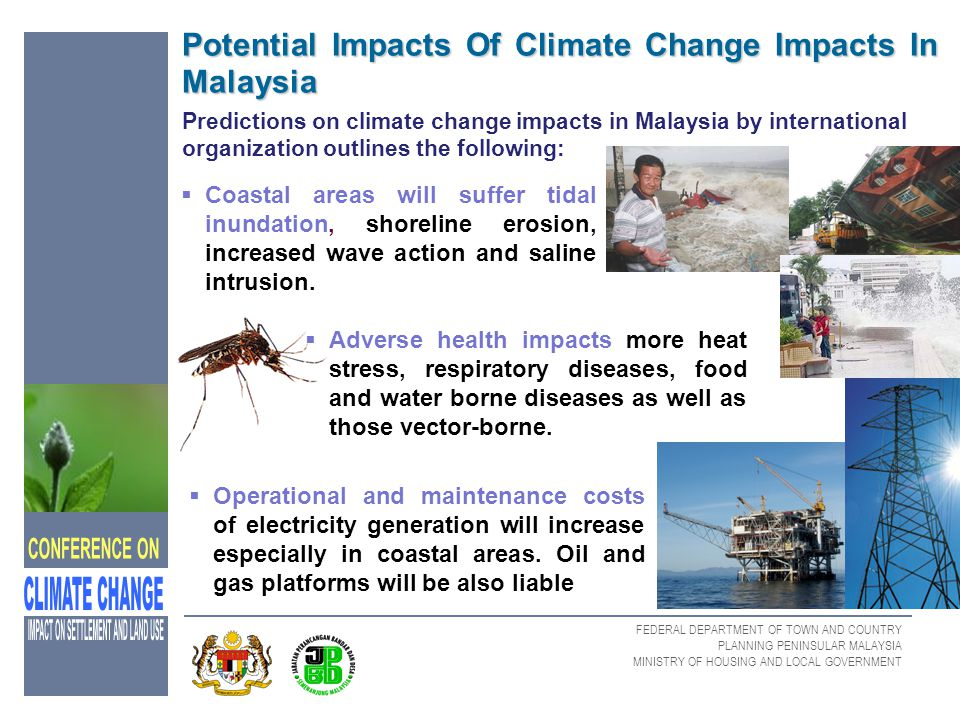 Potential Impacts Of Climate Change Impacts In Malaysia
