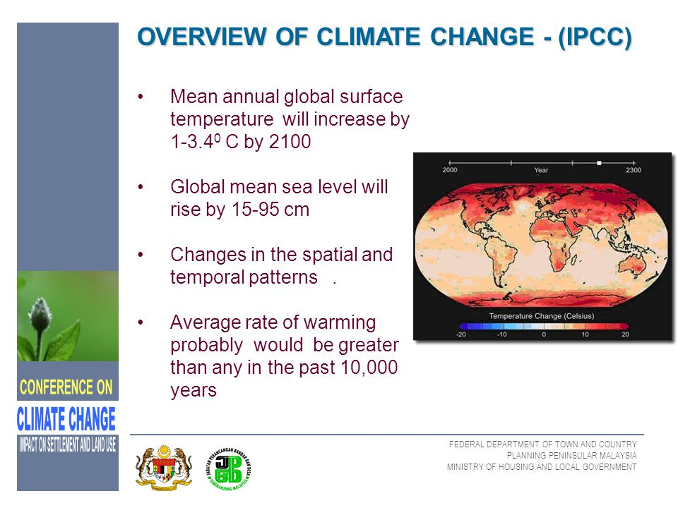 OVERVIEW OF CLIMATE CHANGE - (IPCC)