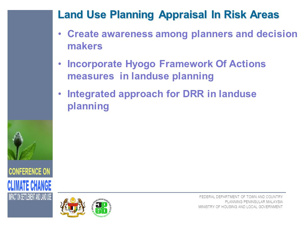 Land Use Planning Appraisal In Risk Areas