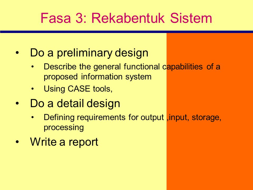 Fasa 3: Rekabentuk Sistem