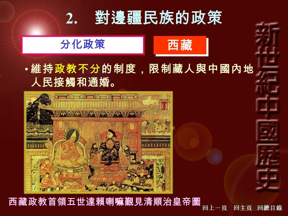 西藏政教首領五世達賴喇嘛覲見清順治皇帝圖