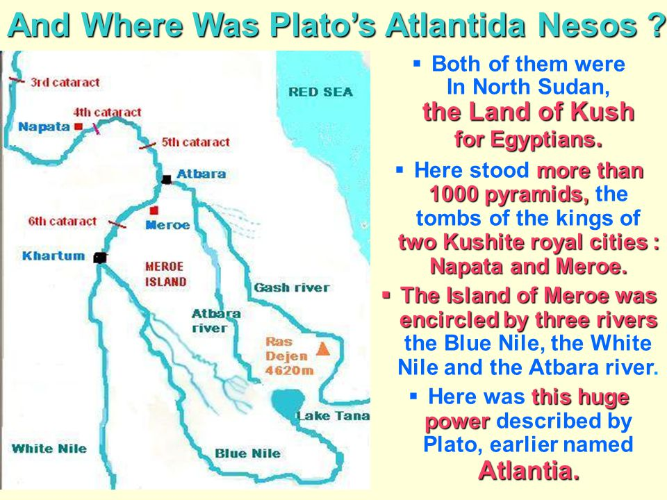 And Where Was Plato's Atlantida Nesos