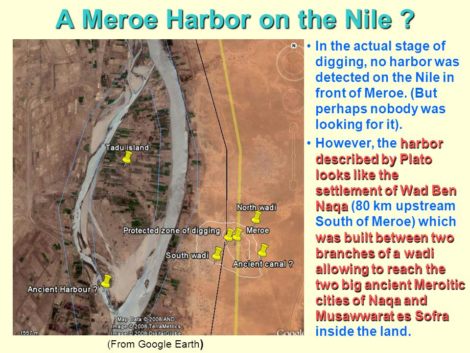 A Meroe Harbor on the Nile
