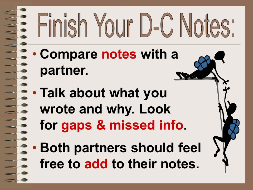 Compare notes with a partner.