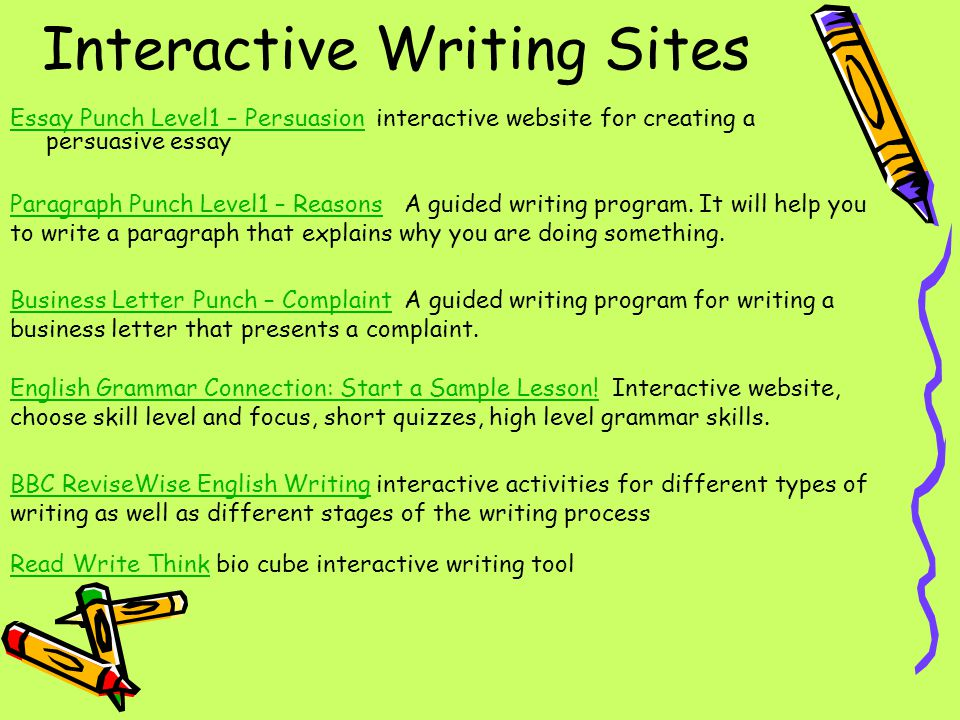 writing spelling grammar ppt video online  9 interactive writing sites