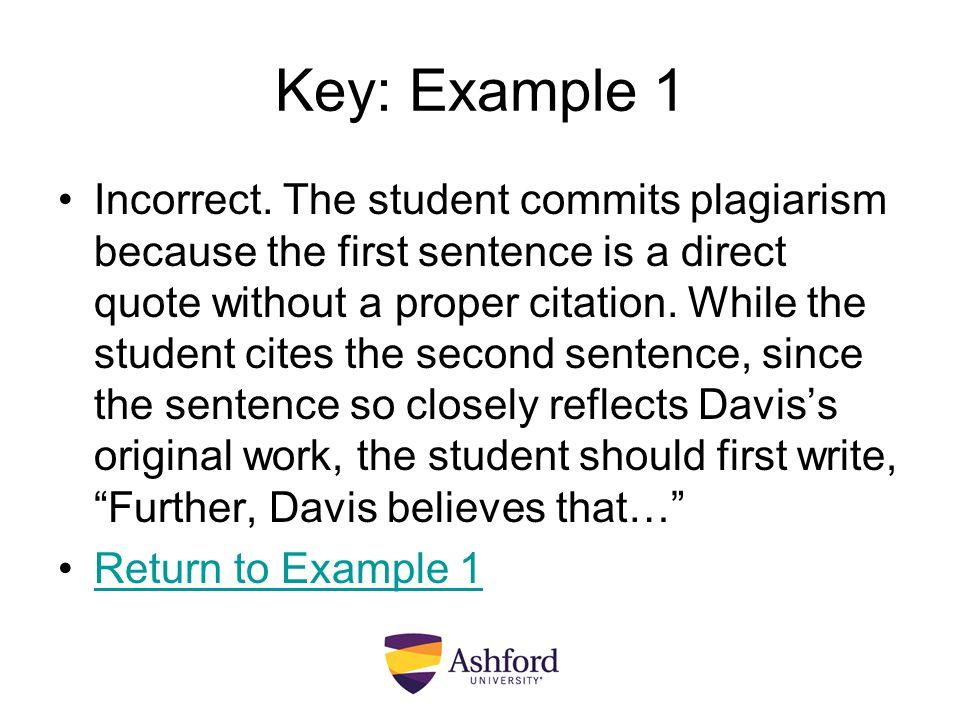 Key: Example 1